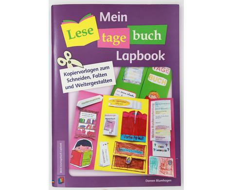 Mein Lesetagebuch Lapbook