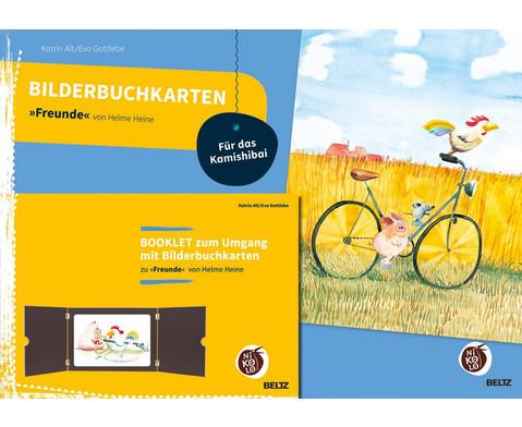 Bilderbuchkarten Freunde von Helme Heine
