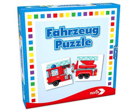 noris Fahrzeuge Puzzle