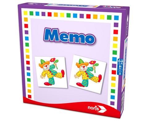 noris Memo - Kartenspiel