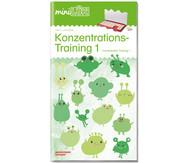 miniLÜK - Konzentrationstraining 1: für Vor- und Grundschulkinder