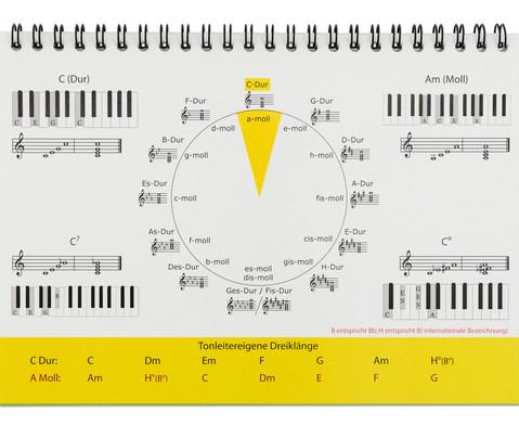 Aufsteller Piano-Basisakkorde-3