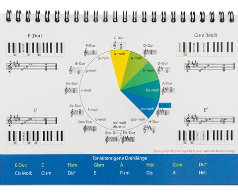 Aufsteller Piano-Basisakkorde-5