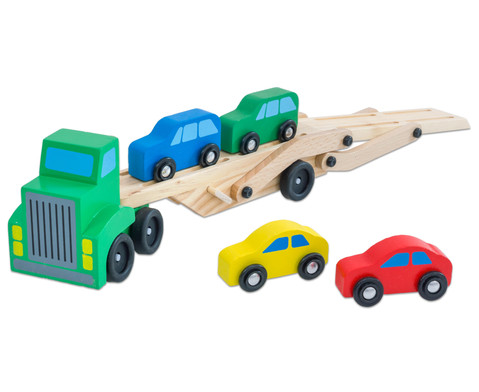 Auto-Transporter aus Holz-2