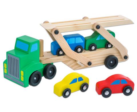 Auto-Transporter aus Holz-3