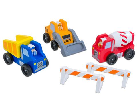 edumero Baustellen-Fahrzeuge-Set