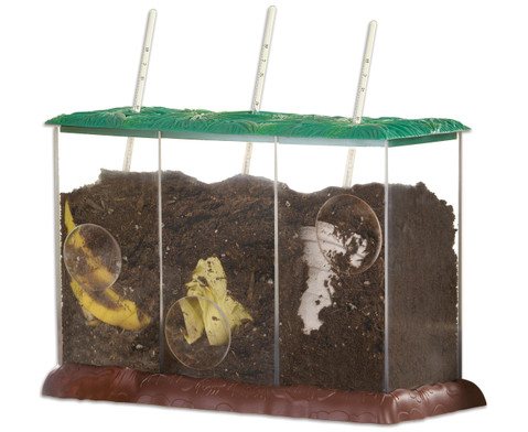 Transparenter Kompost-Behaelter