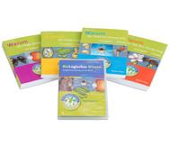 Biologisches Wissen in Frage und Antwort - Set mit 4 Büchern und 1 CD