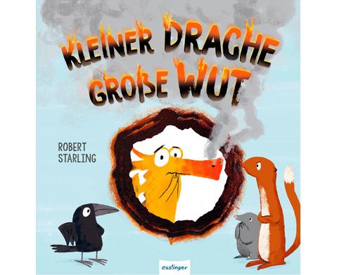 Buch Kleiner Drache - grosse Wut