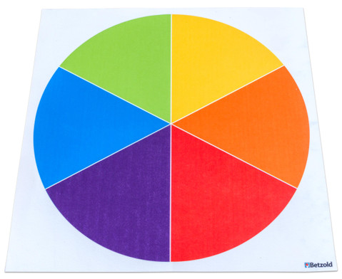 Farbkreis Teppich