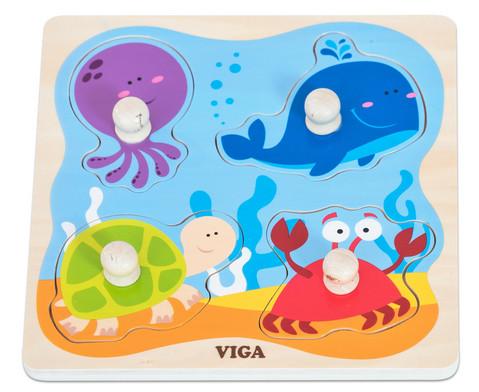 Greifpuzzle Unter Wasser