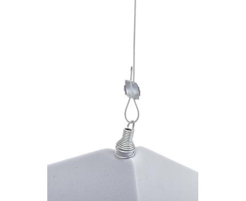 Xilent Abhaenge-Set mit Magnet Komplettset inkl Drahtspirale