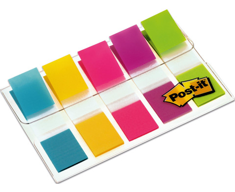Post-it Index Mini 5-farb-Set
