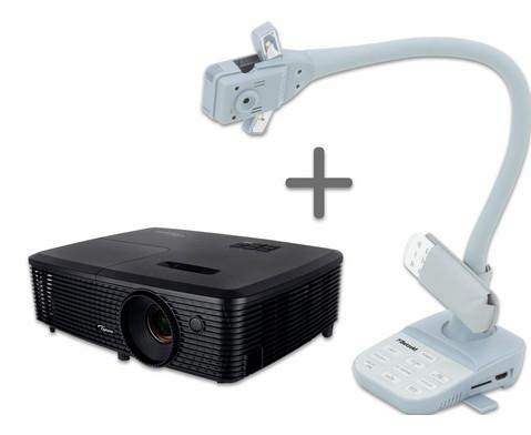 OHP 20 - Set Betzold Objektkamera X6A  Optoma Beamer W334e