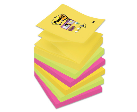 Post-it Super Sticky 6 Bloecke