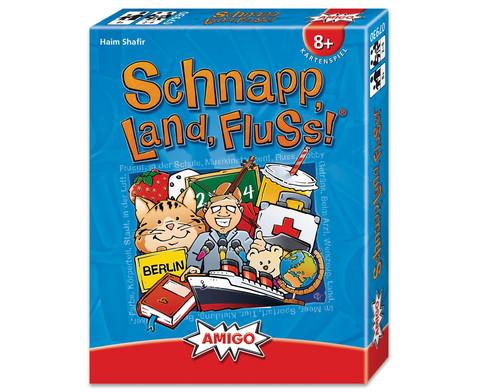 Schnapp Land Fluss - Kartenspiel