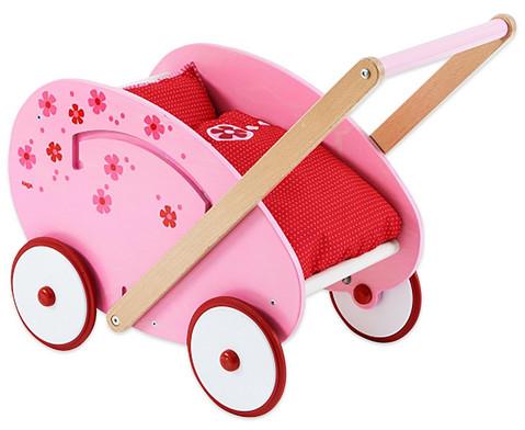 Puppenwagen Blumentraum