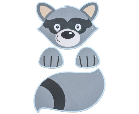 Bunte Tiermasken 7 Stueck-5