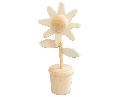 Wackel-Blume