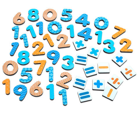 Betzold Kunterbunte Magnet-Zahlen