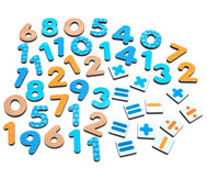 Kunterbunte Magnet-Zahlen