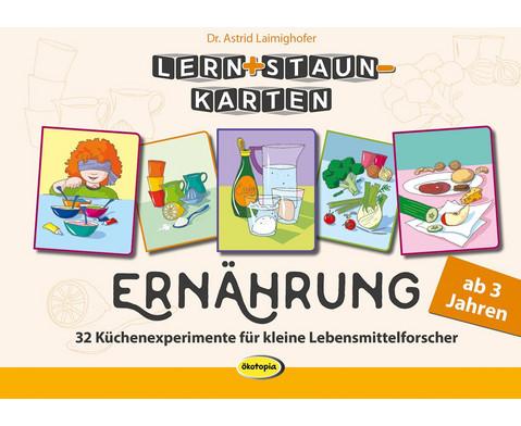Lern-  Staun-Karten Ernaehrung