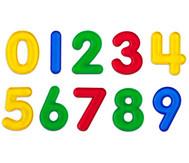 Transparente Zahlen