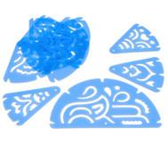Mandalaschablonen, 11 Stück