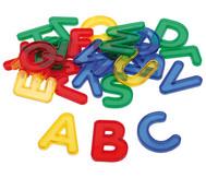 Transparente Buchstaben