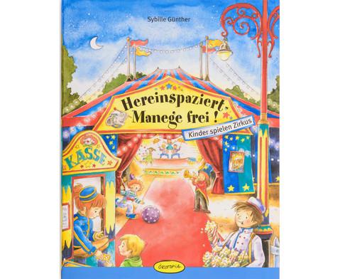 Hereinspaziert - Manege frei Buch