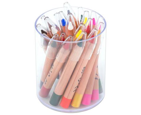 edumero Schminkstifte im Köcher, 20 Stück