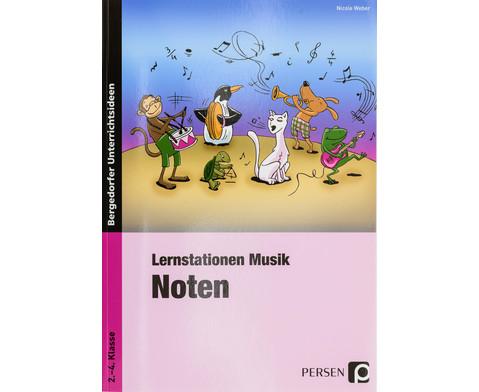 Lernstationen Musik Noten-1