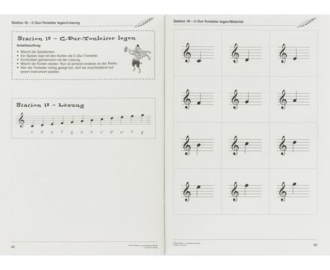 Lernstationen Musik Noten-6