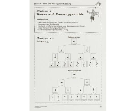 Lernstationen Musik Noten-8