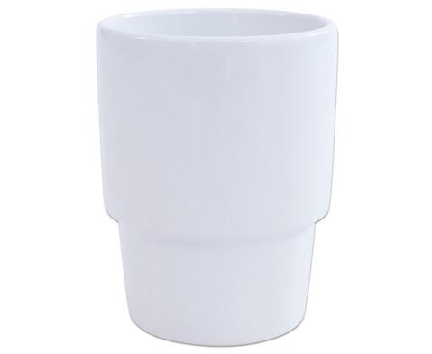 Kaffeebecher weiss-2