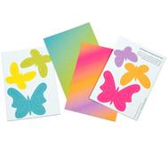 Prickelmobile Schmetterlinge, 10 Stück