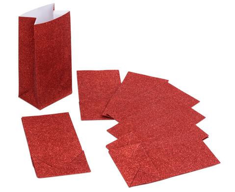 Papiertueten mit Blockboden 8 Stueck