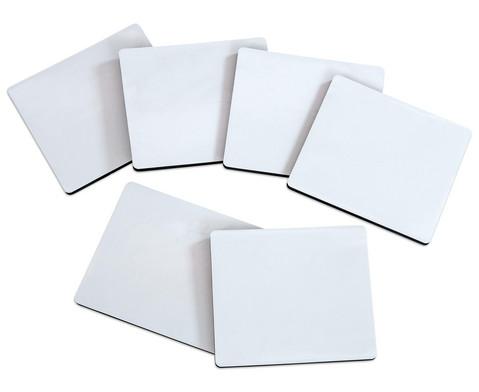 Mini Whiteboard 6er-Set