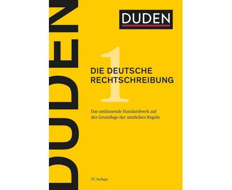 DUDEN Die deutsche Rechtschreibung 27 Auflage