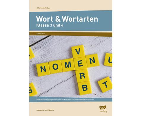 Wort  Wortarten - Klasse 3 und 4-1
