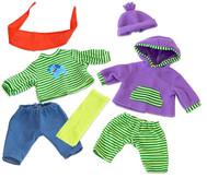 Puppenkleider-Set Jungs