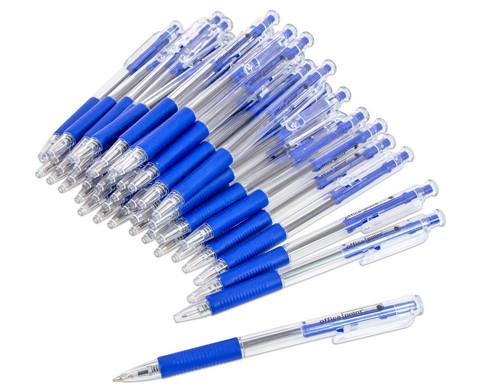 edumero Druckkugelschreiber, 48er-Set