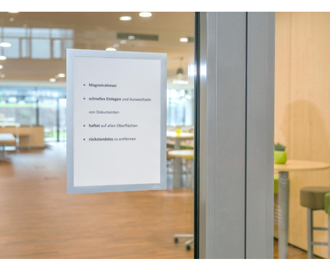Duraframe - Selbstklebender Info-Rahmen 2er-Set A4 oder A3