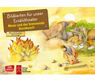 Bildkarten: Mose und der brennende Dornbusch