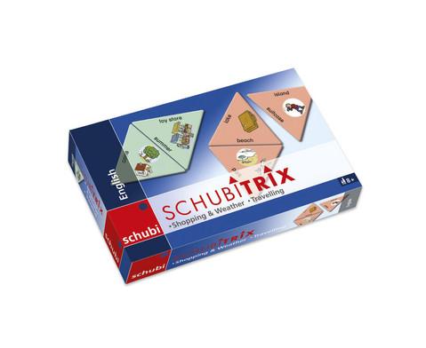 SCHUBITRIX English - Shopping  Weather Travelling