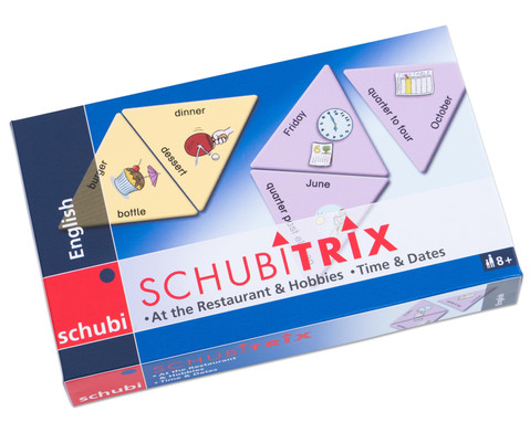 SCHUBITRIX English - At the Restaurant  Hobbies Time  Dates