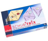 SCHUBITRIX English - At the Restaurant & Hobbies, Time & Dates