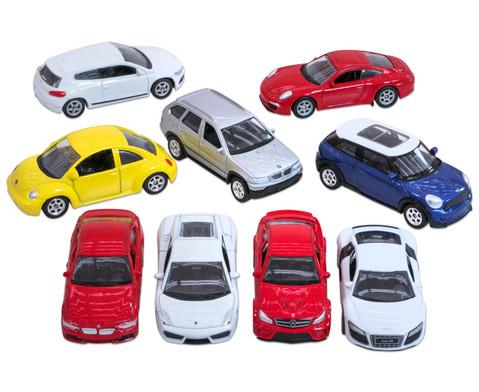 9 verschiedene Modellautos 160