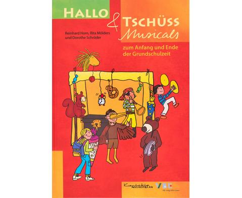 Buch - Hallo und Tschuess Musicals