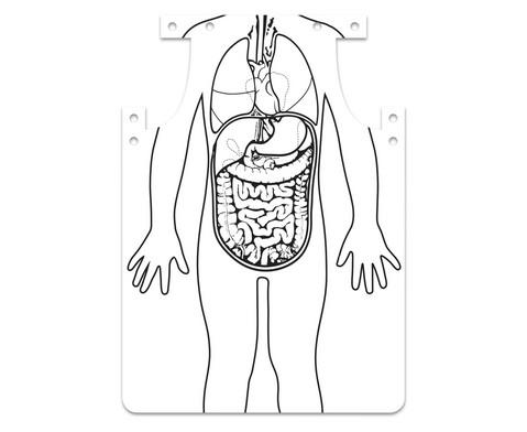 Organ-Schuerze zum Selbstgestalten